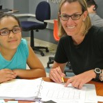 reading tutoring: student and teacher