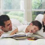 Summer Action Plan: Parents & kids enjoy reading together