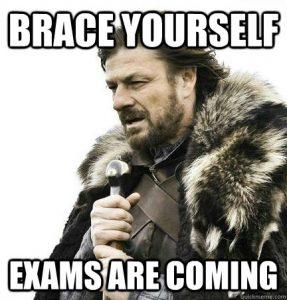 mastering exams