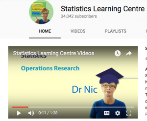 Statistics channel for high school