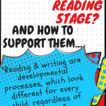 RI Tutors Reading and Writing Stages