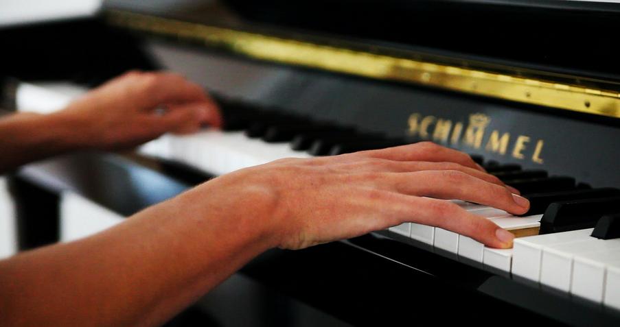 similar skills math and playing piano