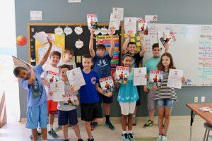 Rhode Island Learning Summer Programs, Summer Program class, Summer Slide reading, Summer Slide infographic, summer slide, summer tutoring, summer programs