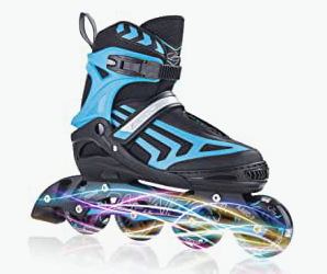 roller blades as a holiday gift