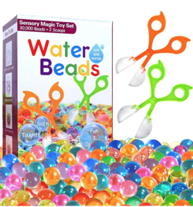 Fine motor beads as a holiday gift